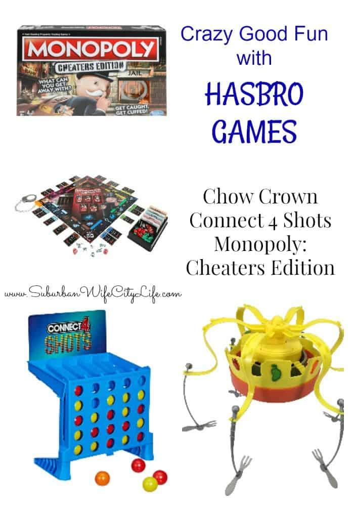 Crazy Good Fun with Hasbro Games