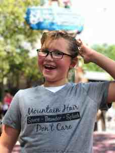 Mountain Hair Don't Care Shirt- Disney World