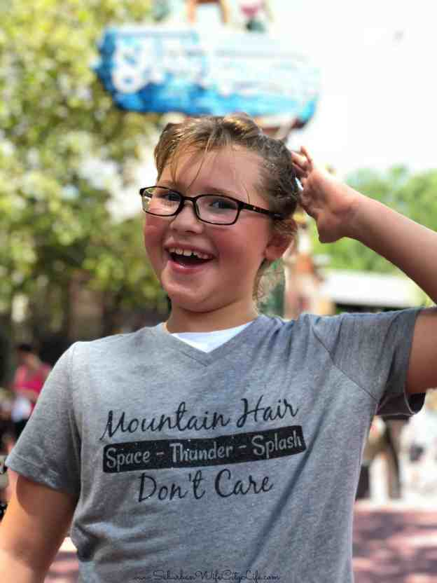 Mountain Hair Don't Care Disney World #CricutMade