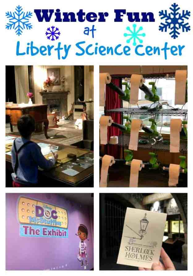 Winter Fun at the Liberty Science Center
