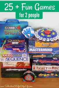 25+ Fun Games for 2 people