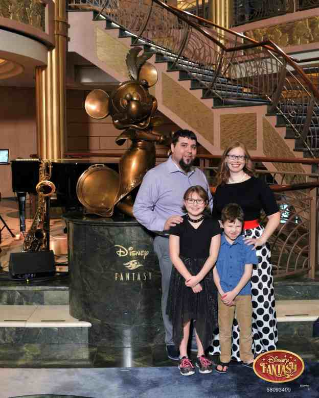 Disney Cruise Formal Night photos