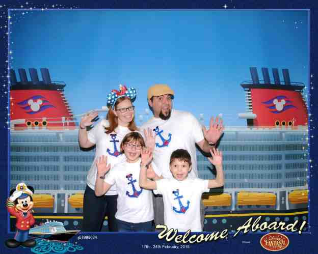 Disney Cruise Welcome Aboard photo