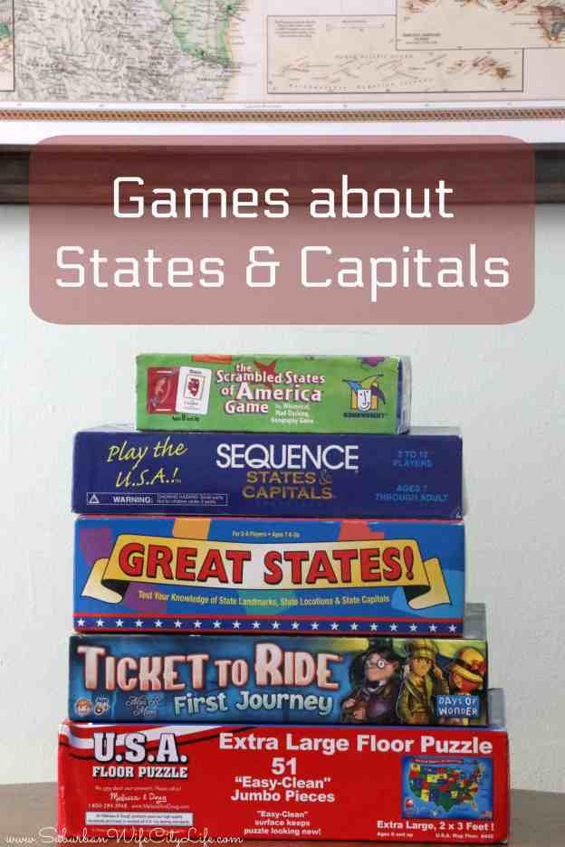 Games about States & Capitals