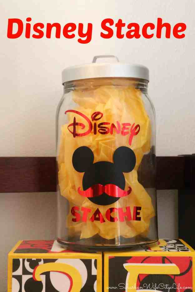 DIY Disney Stache #CricutMade