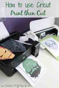 How to use Cricut Print then Cut