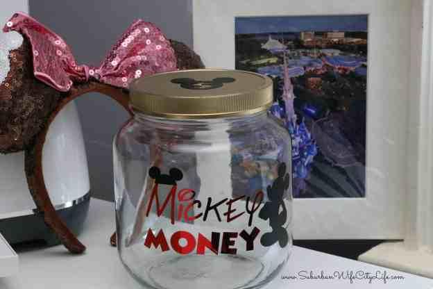 Mickey Money Disney Jar