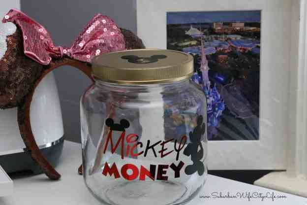 Mickey Money Disney Jar