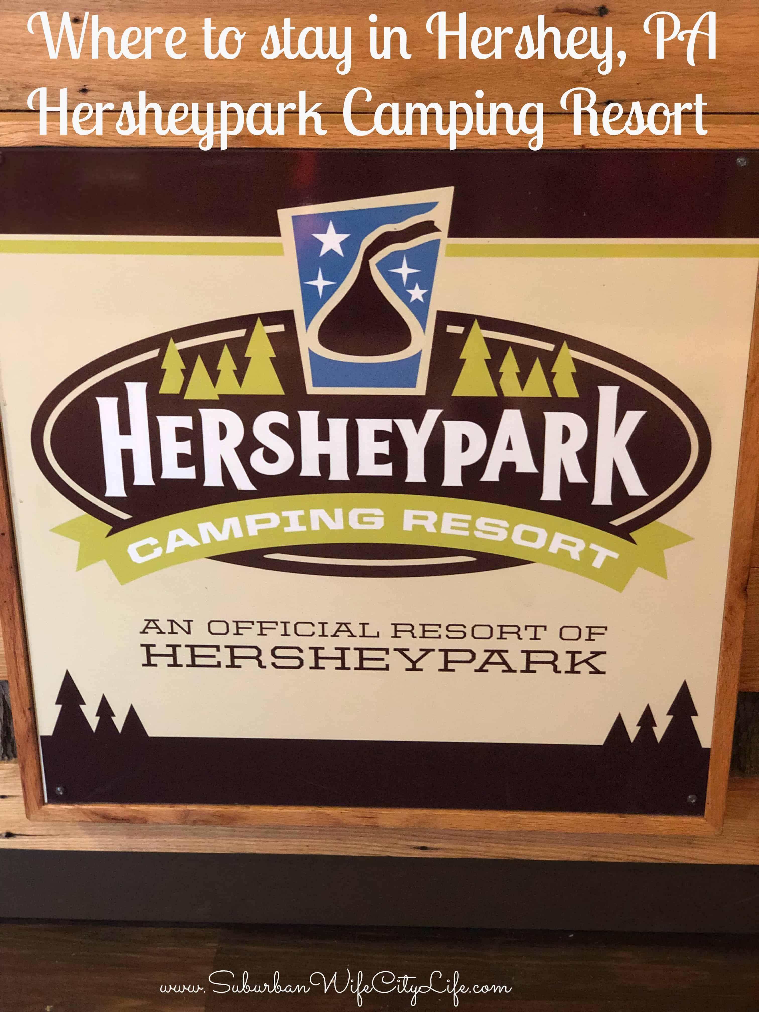 Where to stay in Hershey, PA Hersheypark Camping Resort