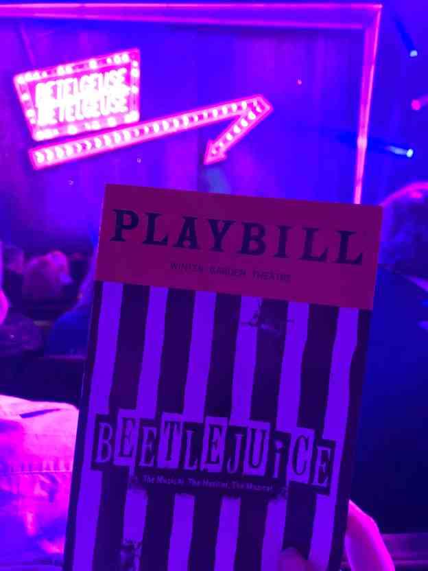 Broadway Beetlejuice