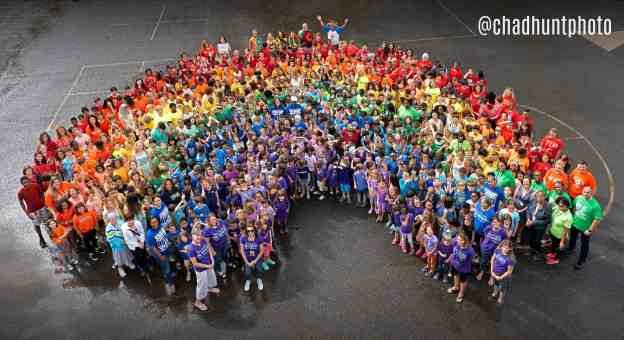 School Rainbow Photo by Chad Hunt Photography