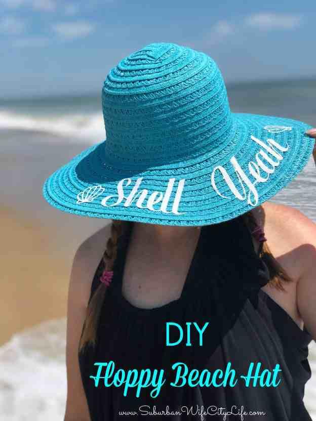 DIY Floppy Beach Hat