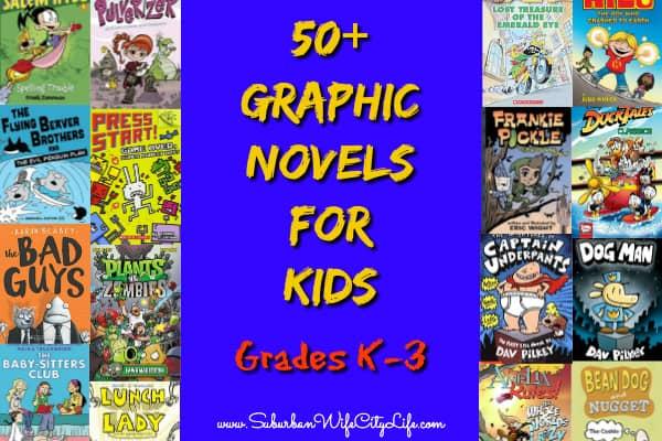 Graphic Novels for K-3 Facebook