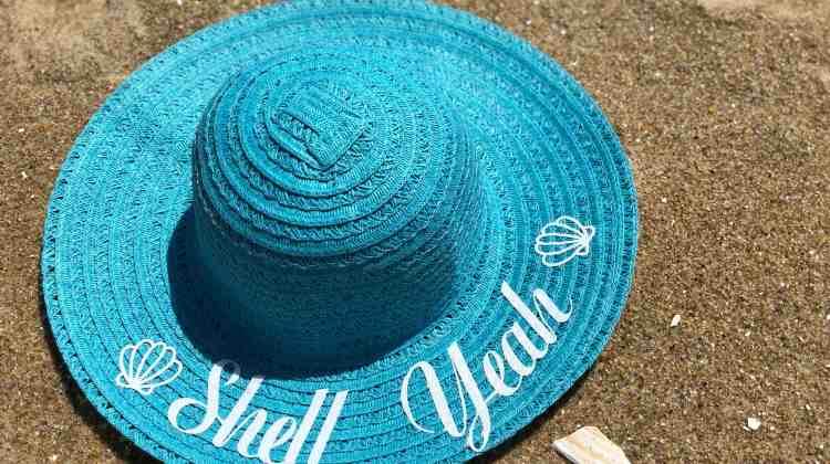 DIY Beach Hats