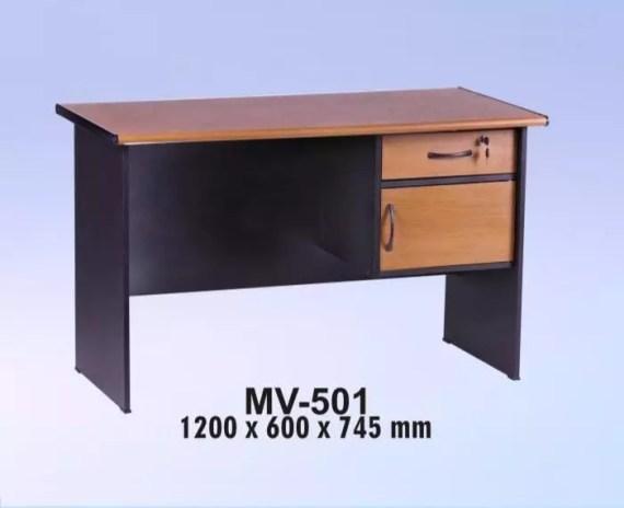 VIP Meja Kantor 1/2 Biro Berikut Laci type MV 501 A