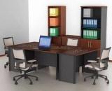VIP Meja Kantor 1/2 Biro Tanpa Laci type MS 601