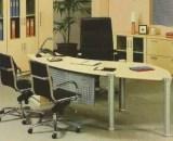 Aditech Meja Direktur Kaca type XE 01