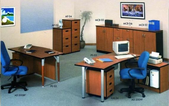 Aditech Meja Kantor Platinum Series 4