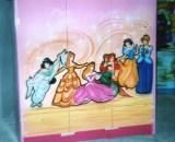 Duco Lemari Pakaian Anak 3 Pintu Princess