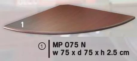 Expo Joint Table 1/4 Lingkaran type MP 075