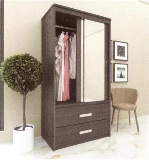 Garvani Wardrobe KELLY SLD 100