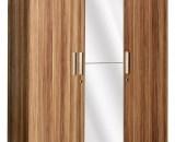 Graver Lemari Pakaian 3 Pintu Cermin WD 198