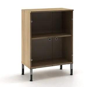HighPoint Low Glass Door Cabinet STT 13320