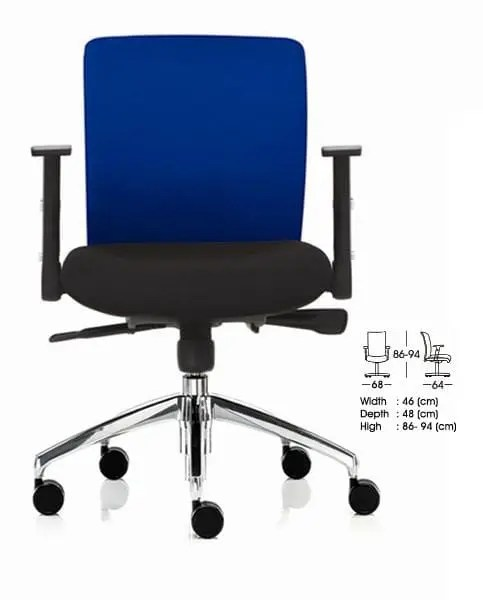 Indachi Kursi Staff/Sekretaris type TREX III AL