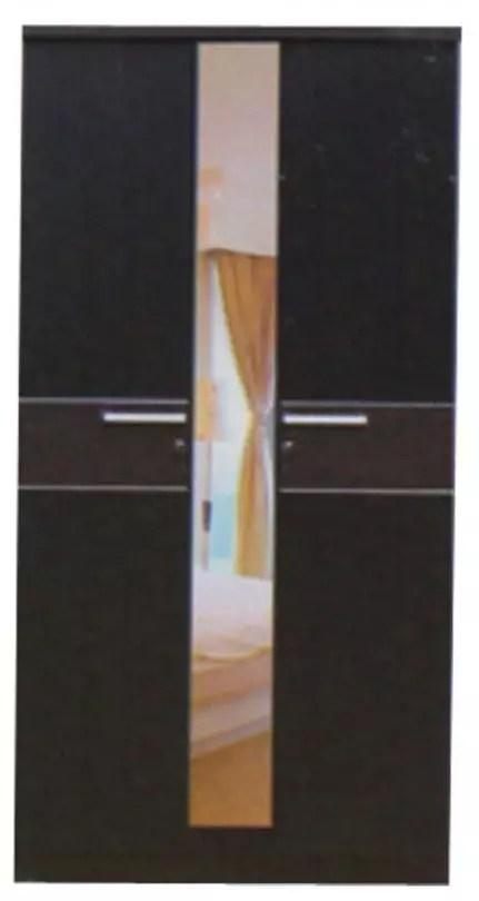 Lunar Lemari Pakaian 2 Pintu Berikut Kaca type LPT 2001