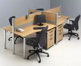 Modera Partisi 1 Series Workstation 1