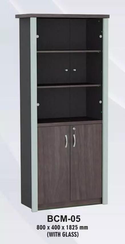VIP Lemari Arsip Tinggi Kaca+Panel type BCM 05