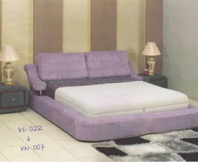 Vitus Bed Frame type VL 022 Nakas VN 007