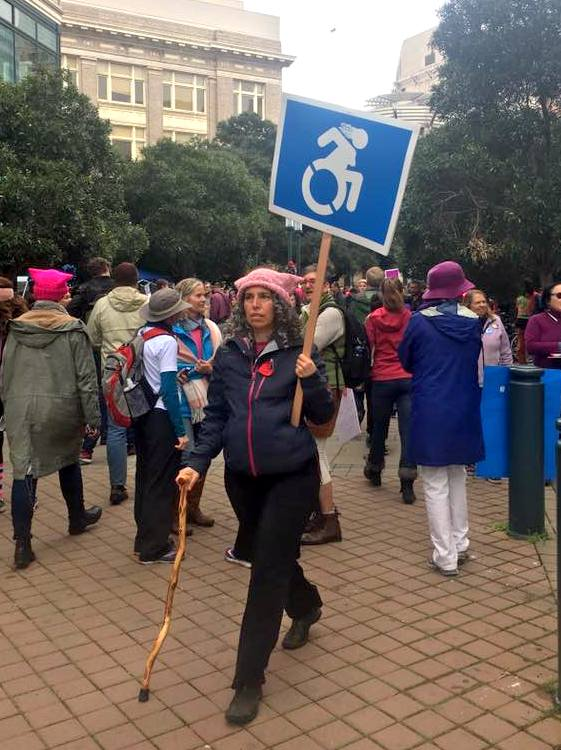 Oakland Women's March 2017 photo by Kat Zigmont