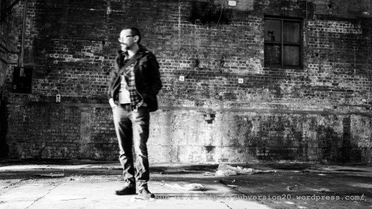 me in a warehouse (mono)