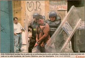 Foto: El Sol de México, 2 de mayo de 2001