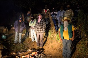 P'urépecha communities of Los Reyes decided to defend themselves from organized crime