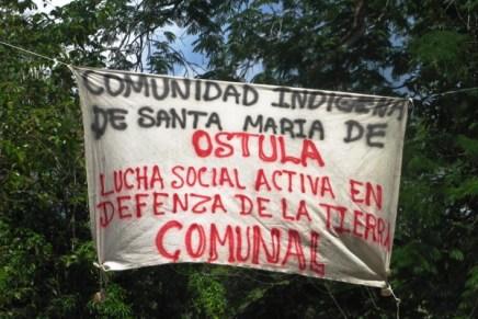 Comunicado de Ostula en la Cátedra Tata Juan Chávez