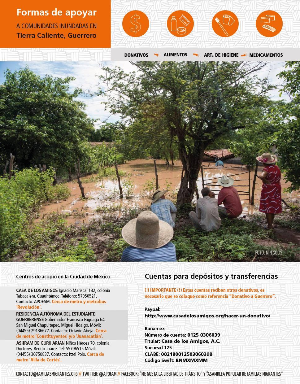 Campaña en solidaridad con Tierra Caliente- APOFAM