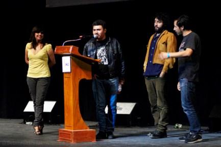 Telekrimen en la entrega del Premio IMAS 2013