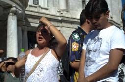 10 jovenes y adultos en contra del alza en la tarifa