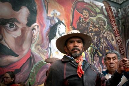No borrarán la memoria de Zapata ni la lucha de Atenco