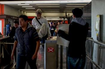 Metro Pantitlán. Fotografía: Amaranta Marentes Orozco