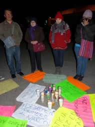 Los participantes anunciaron que habrá más acciones en apoyo al pueblo michoacano