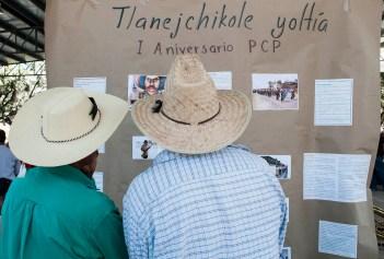 1er aniversario de la PCP. Foto: Karla H. Mares