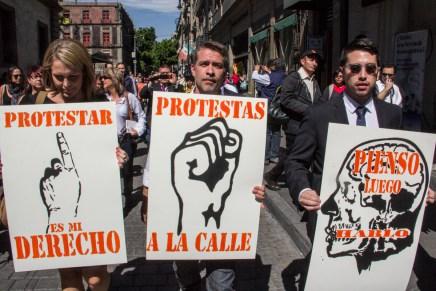 #DisentirEnSilencio: violencia contra la prensa y la protesta en México
