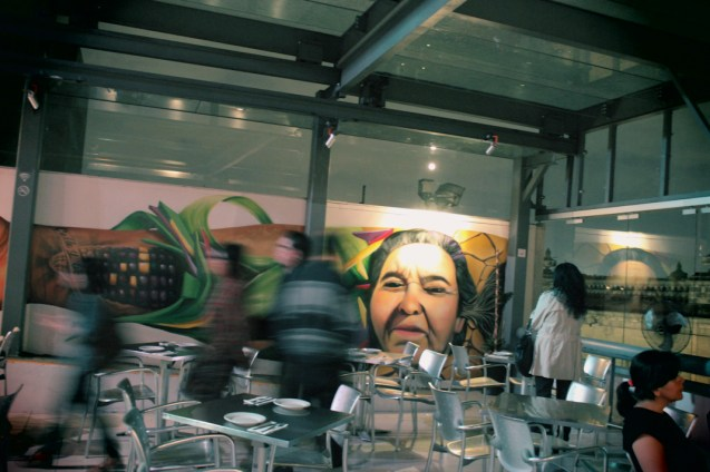 El parte del crew de Grafiti sin pena: Fuk, Yeer, Gabriela, Noise, Facte, Querson y Wind.