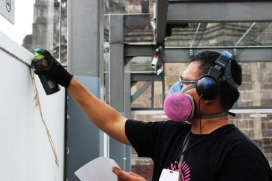 Ángel Cruz Silva, Noise: Experimentando hasta agarrar técnica, desarrollando la creatividad.