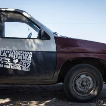 Autodefensas de La Ruana. Fotografías: Heriberto Paredes