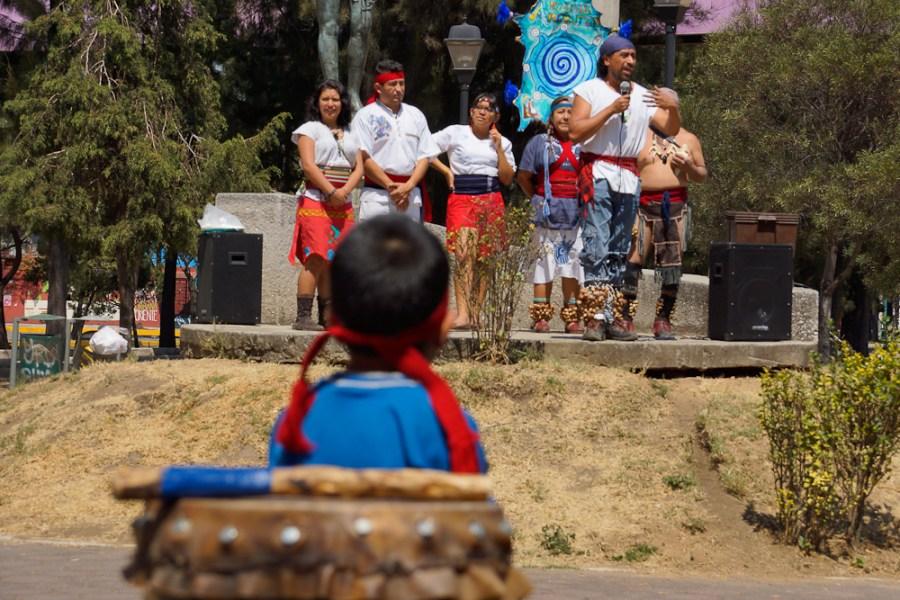 El grupo Ameyaltzin recordó la importancia de mantener viva la memoria histórica
