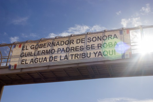 Ante el despojo, denuncia de los pueblos. Fotografía: Aldo Santiago